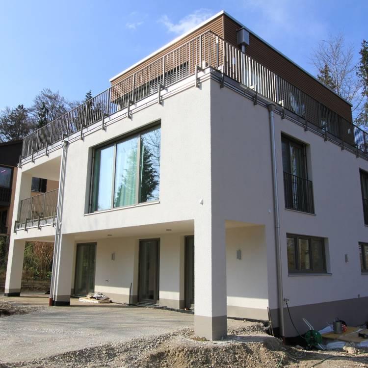 Umbau eines bestehenden Einfamilienhauses