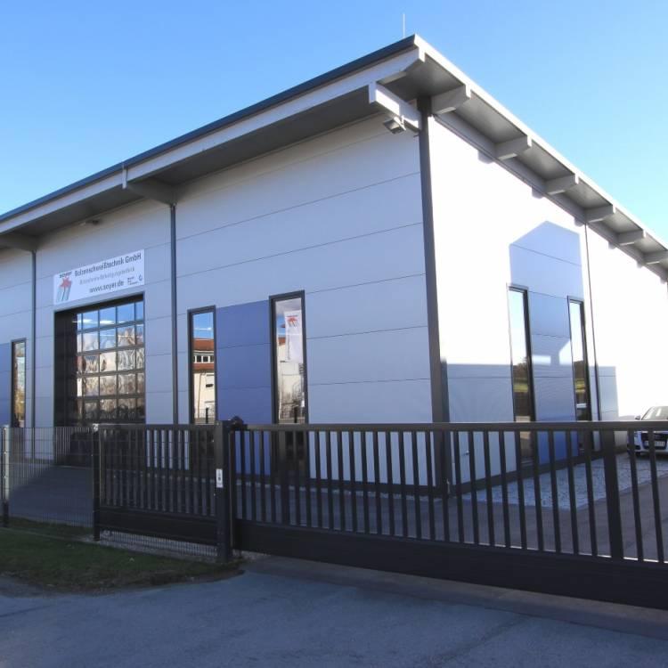 Errichtung einer gewerblichen Lagerhalle
